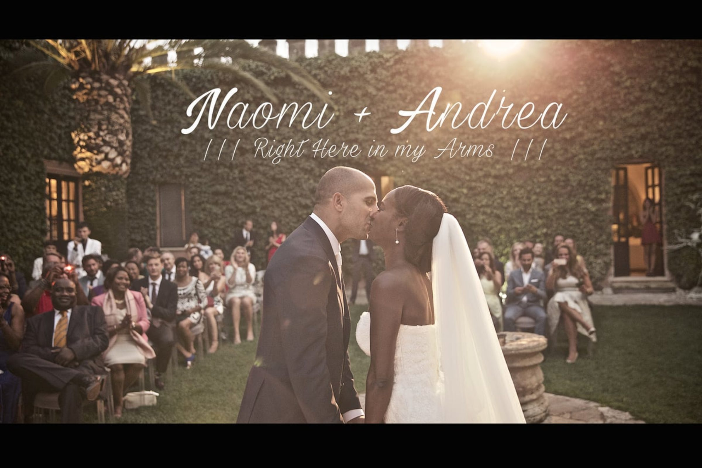 video trailer matrimonio Andrea & Naomi – Civil rite wedding