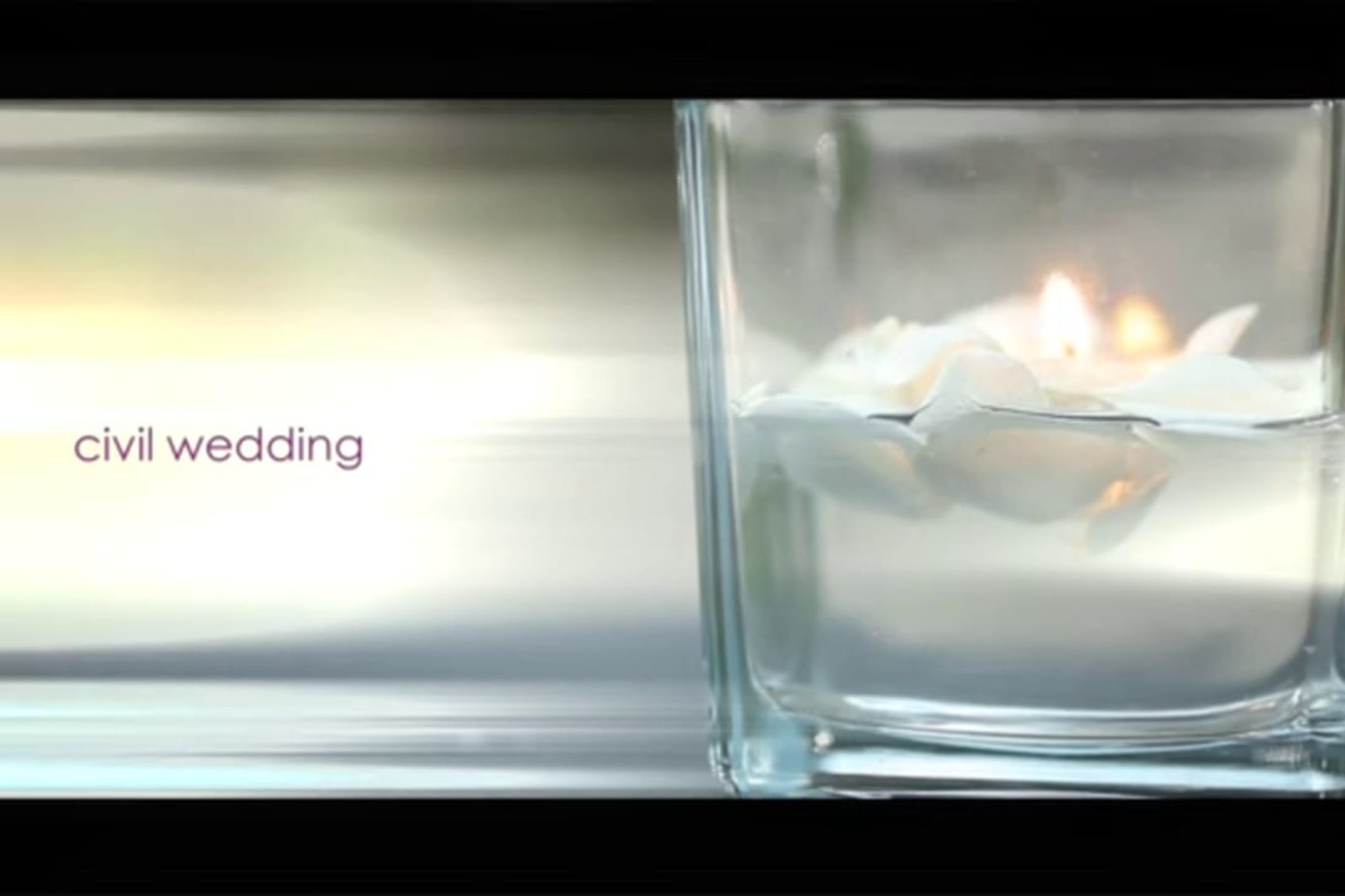 video trailer matrimonio Rito Civile