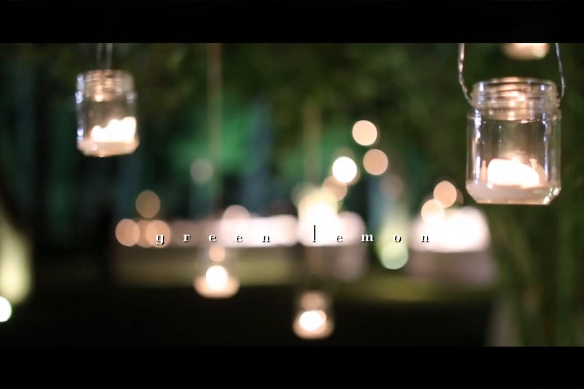 video trailer matrimonio Green lemon