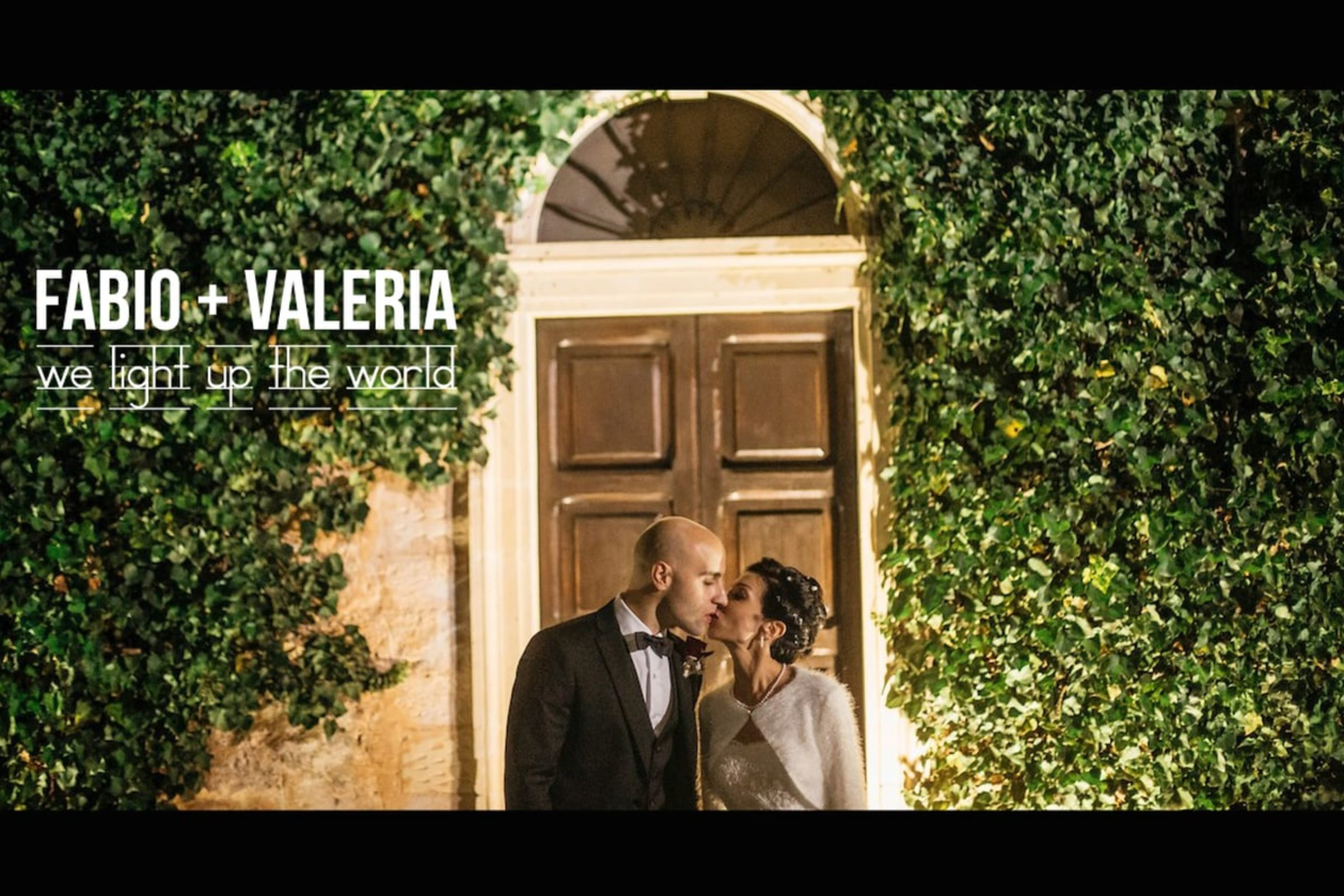 video trailer matrimonio Valeria + Fabio