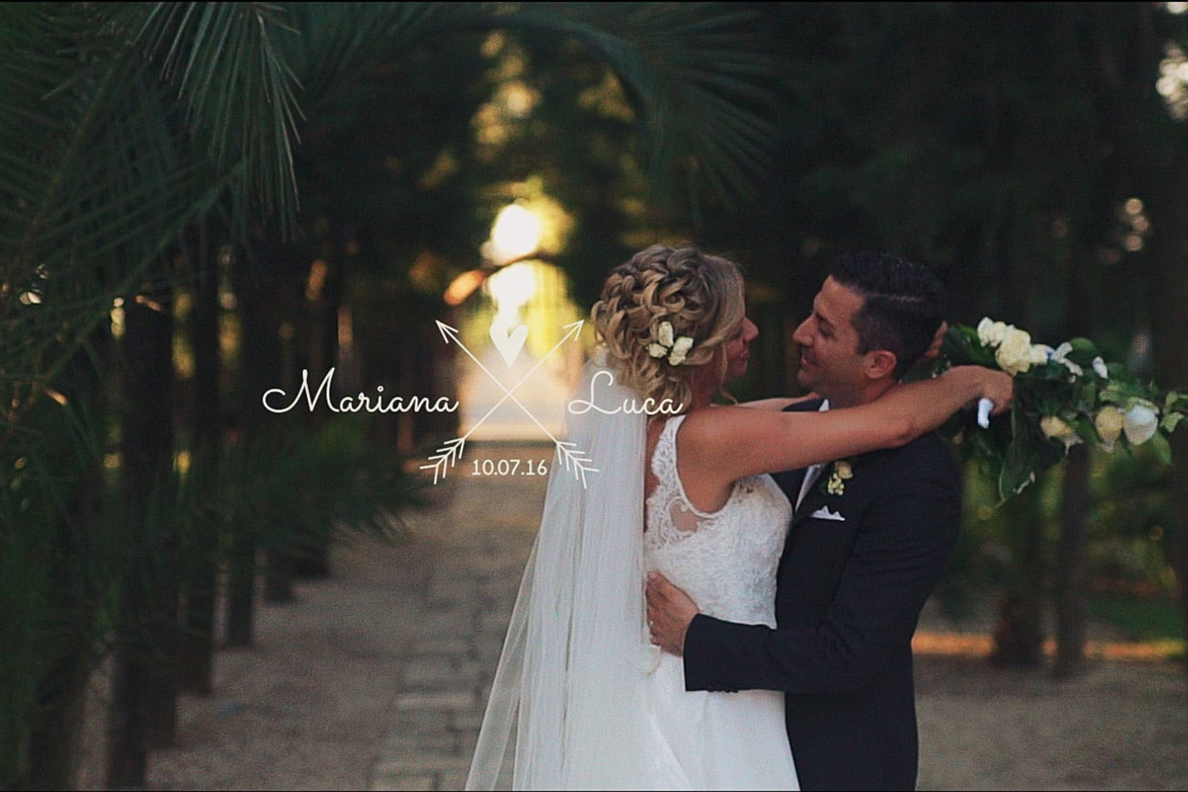 video trailer matrimonio Luca + Mariana