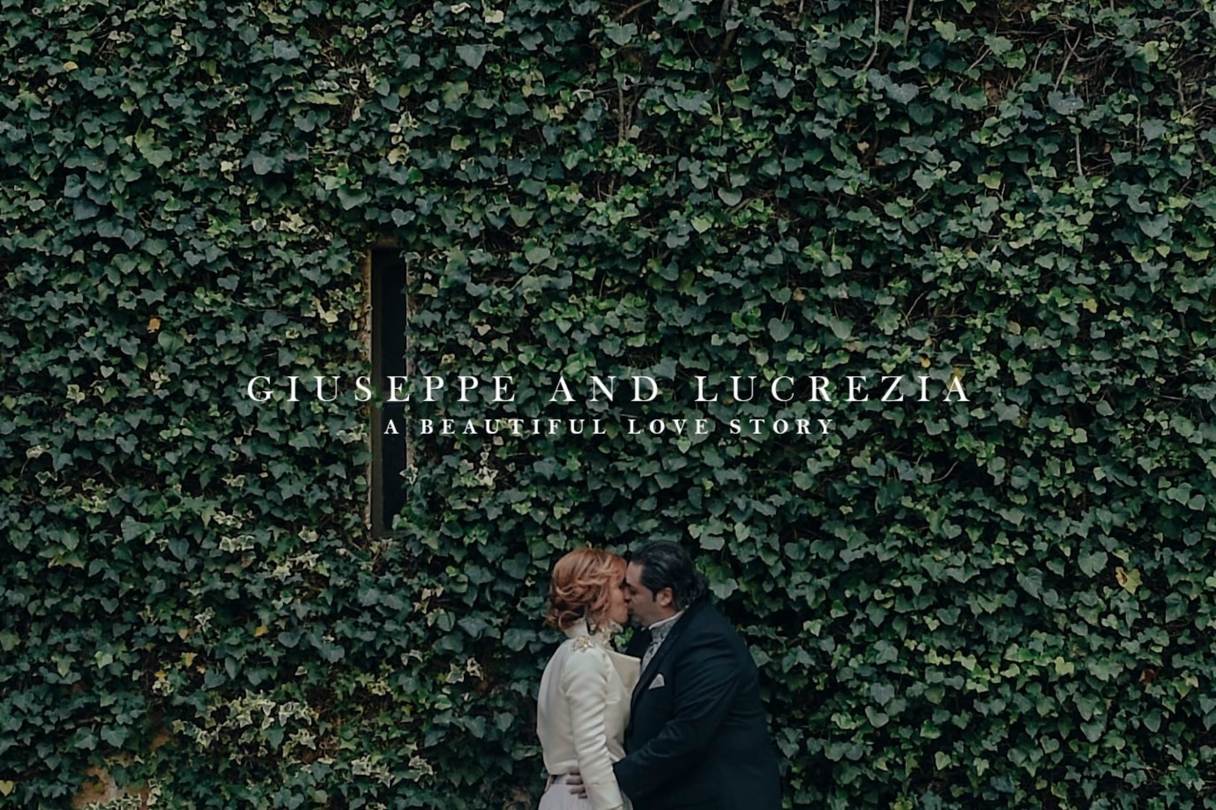 video trailer matrimonio Giuseppe + Lucrezia