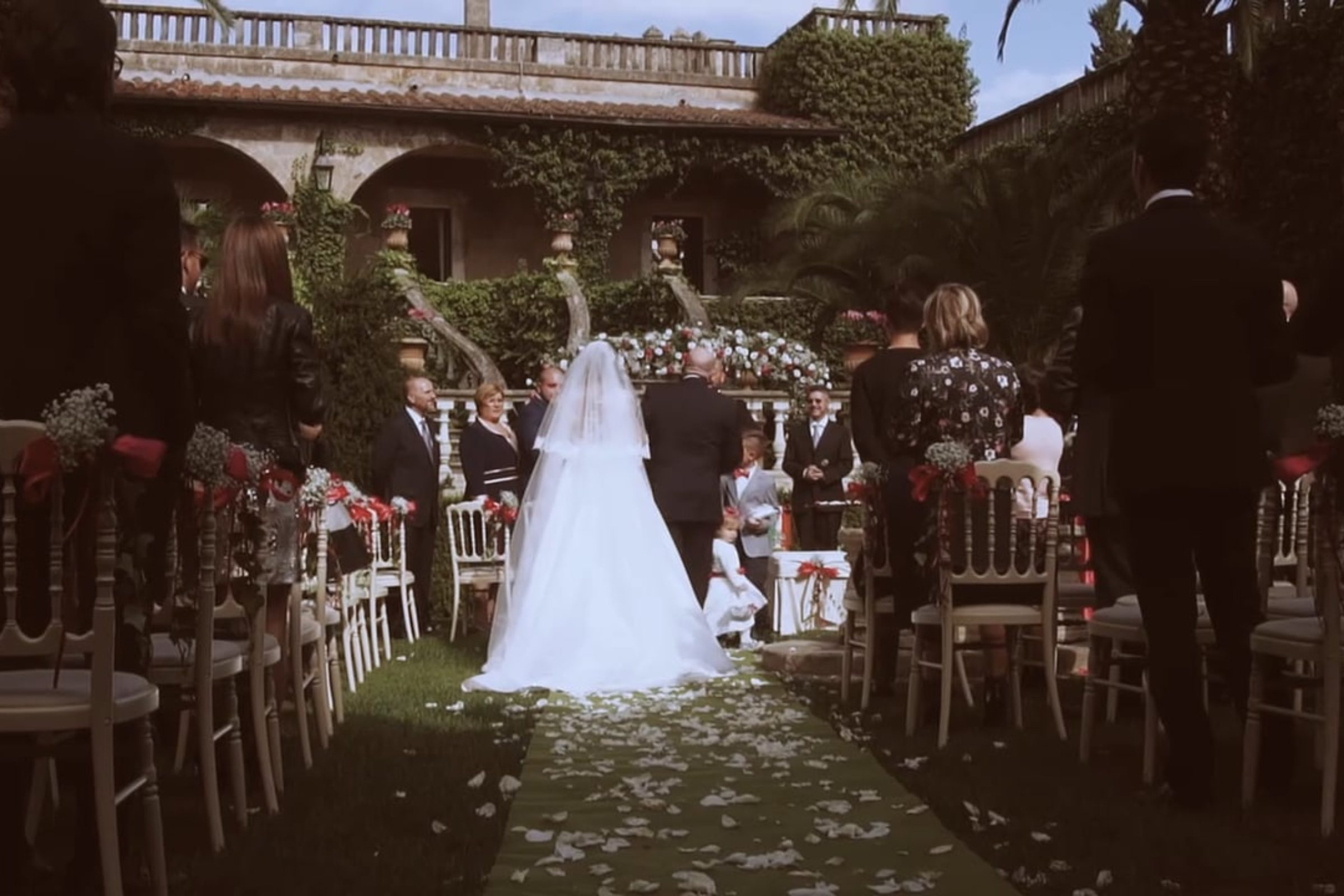video trailer matrimonio La via dell'amore