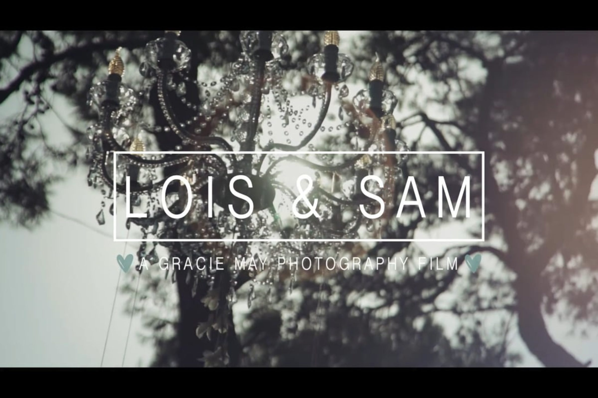 video trailer matrimonio Lois+Sam