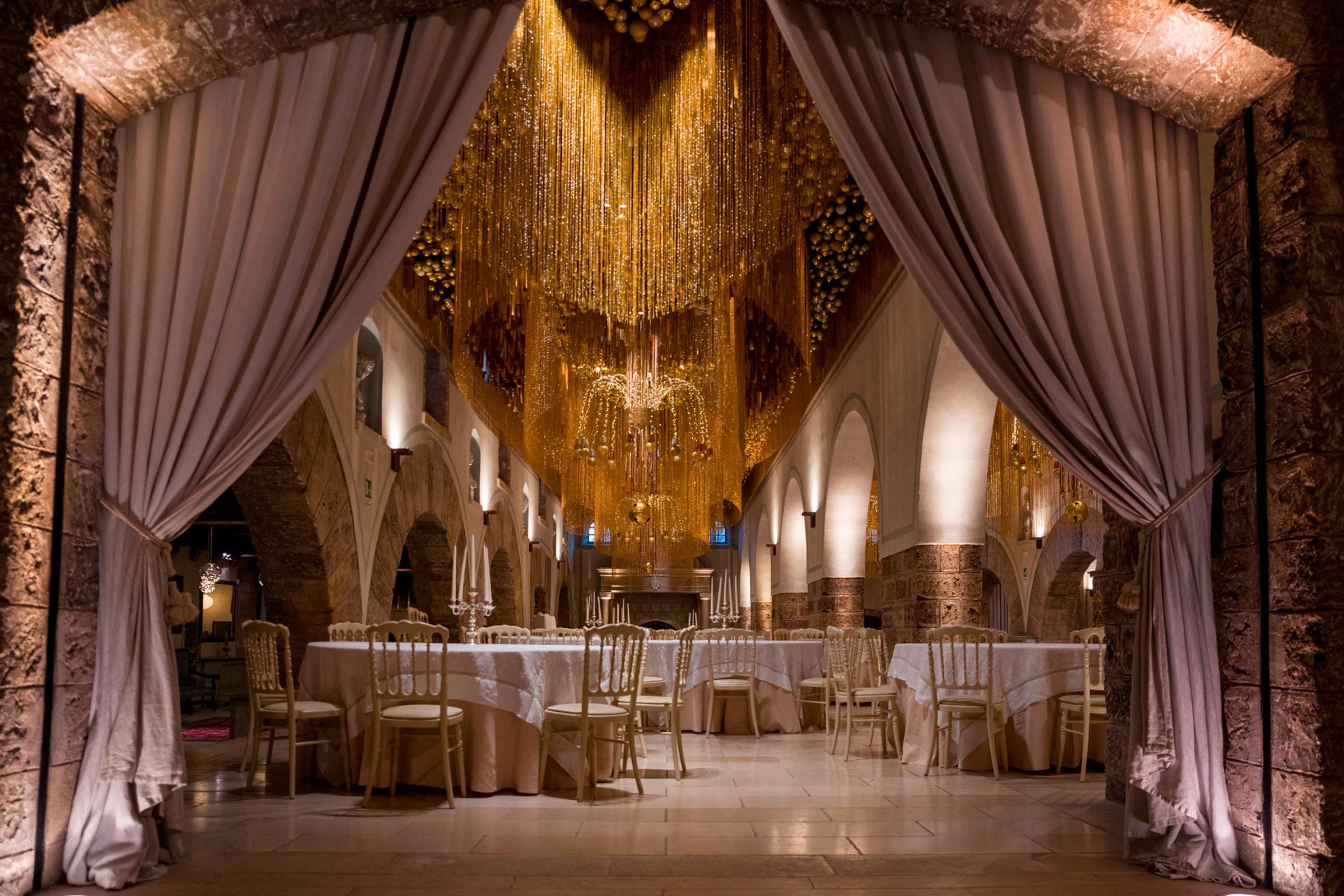 with any weather wedding castello monaci