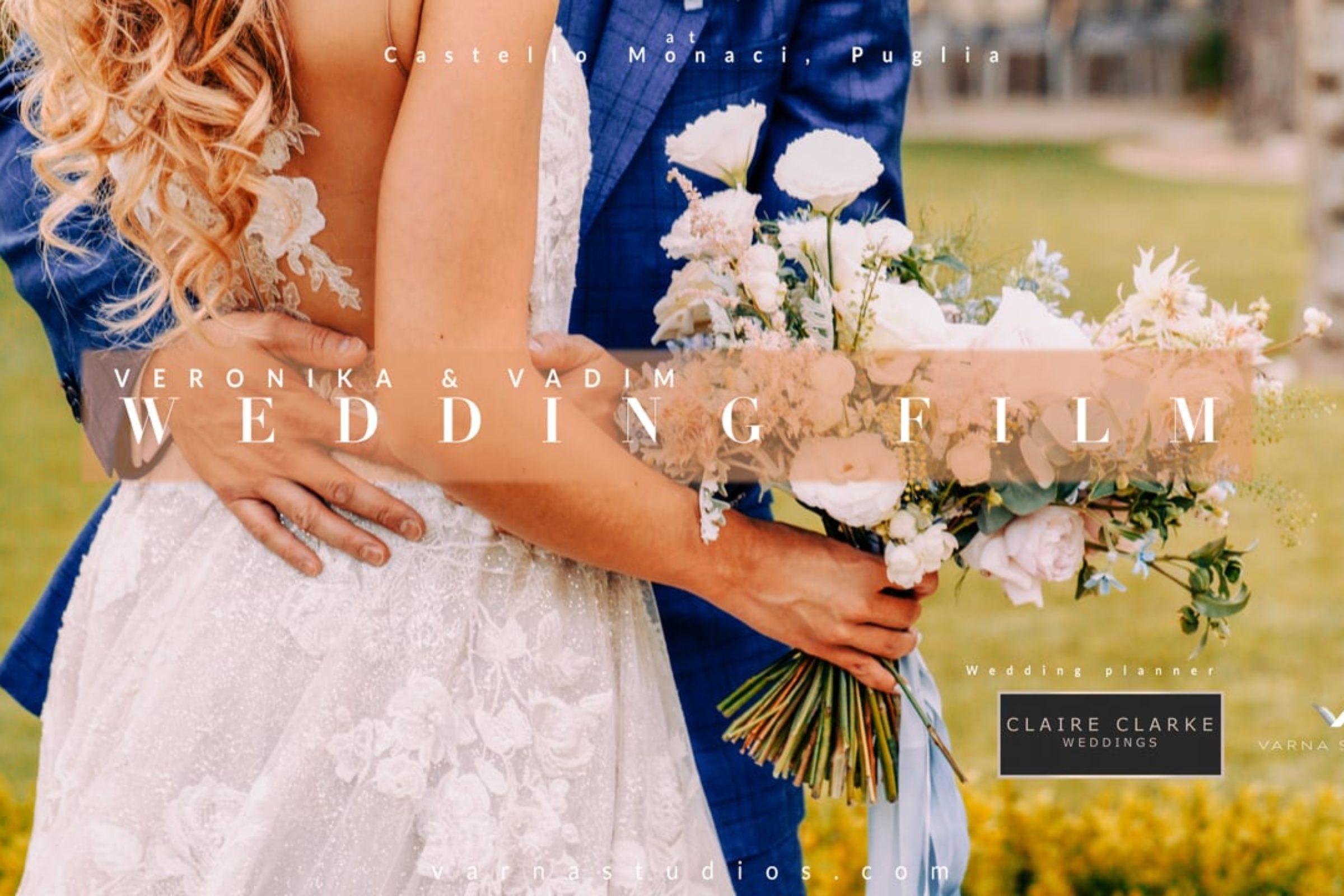 video trailer matrimonio Veronika + Vadim