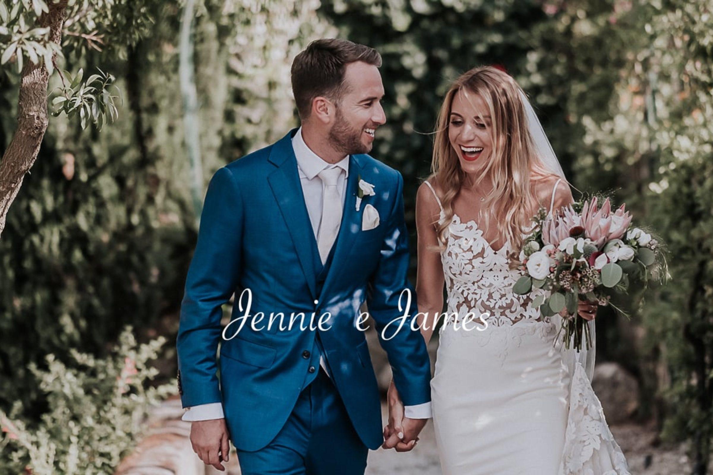 video trailer matrimonio Jennie + James